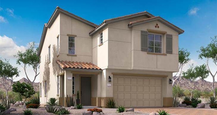 Elevation:Woodside Homes - Rosetta Plan - Lot 88