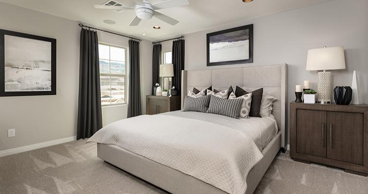 Bedroom featured in the Cadenza Plan 3 By Woodside Homes in Las Vegas, NV
