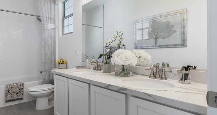 Bathroom featured in the Rosetta Plan 2 By Woodside Homes in Las Vegas, NV