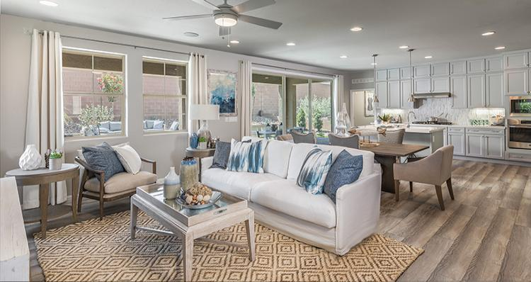 Living Area featured in the Camelia Plan 5 By Woodside Homes in Las Vegas, NV