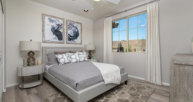 Bedroom featured in the Camelia Plan 5 By Woodside Homes in Las Vegas, NV