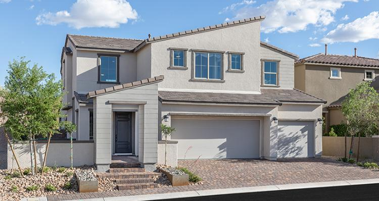 Exterior featured in the Rosabella Plan 6 By Woodside Homes in Las Vegas, NV