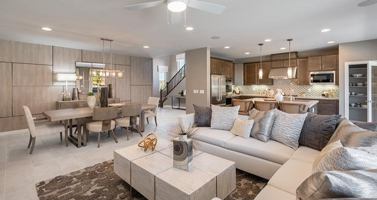 Living Area featured in the Rosabella Plan 6 By Woodside Homes in Las Vegas, NV