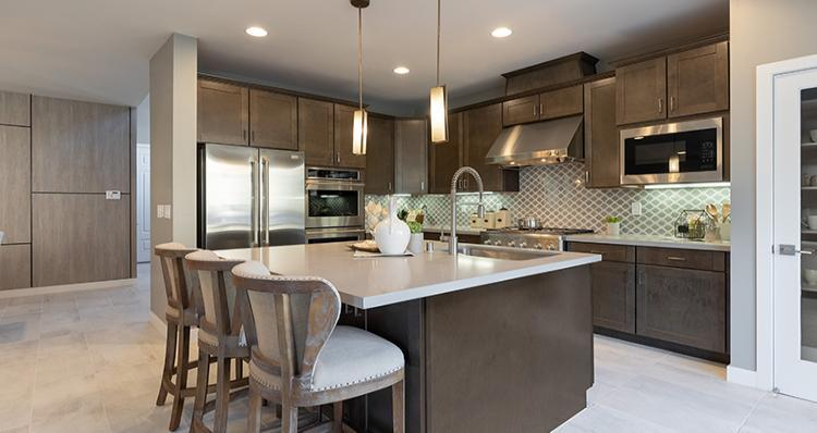 Kitchen featured in the Rosabella Plan 6 By Woodside Homes in Las Vegas, NV
