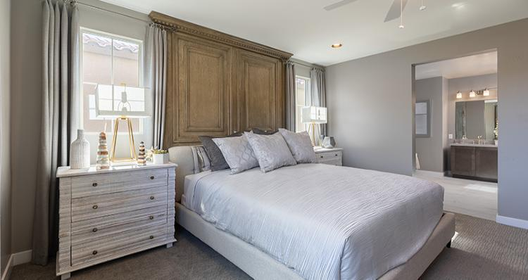 Bedroom featured in the Rosabella Plan 6 By Woodside Homes in Las Vegas, NV