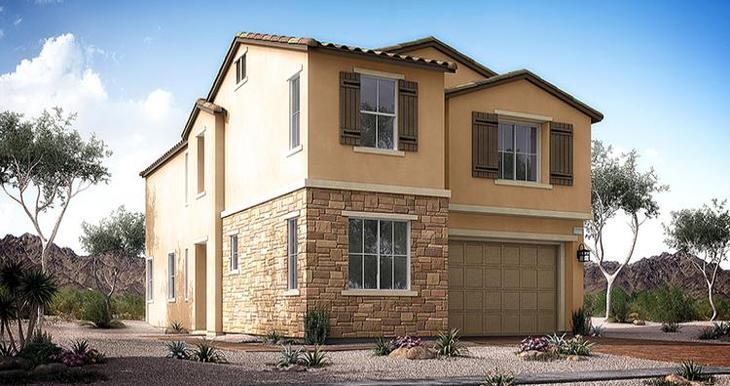 Elevation:Woodside Homes - Madison Plan - Lot 36