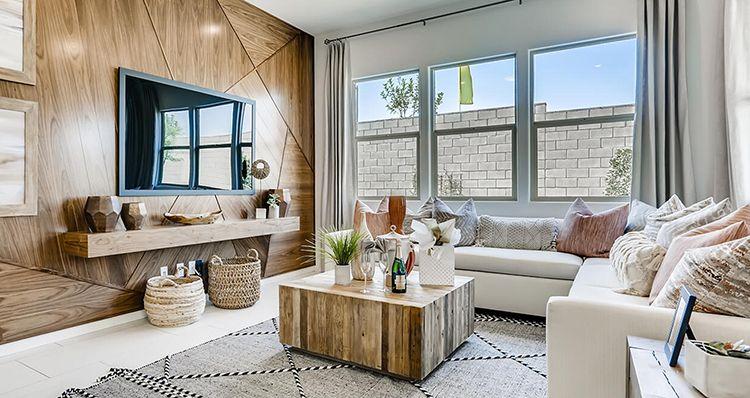 Living Area featured in the Jasper Plan 1 By Woodside Homes in Las Vegas, NV
