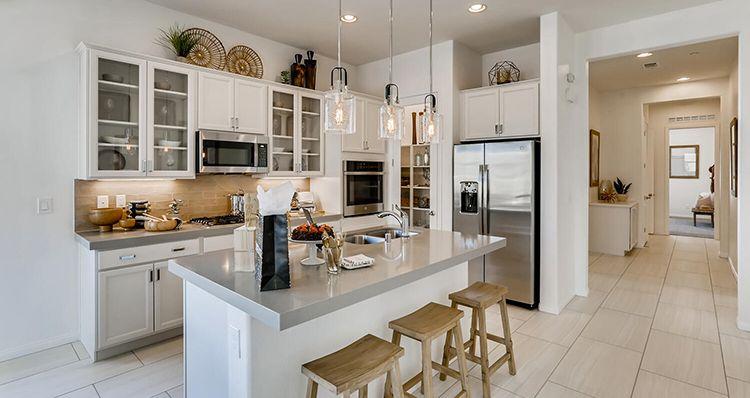 Kitchen featured in the Jasper Plan 1 By Woodside Homes in Las Vegas, NV