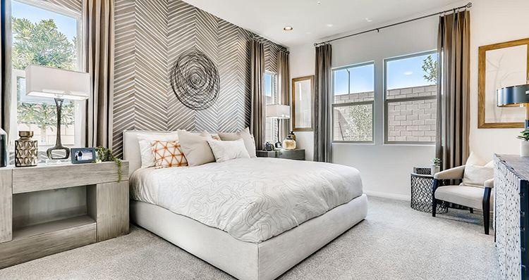 Bedroom featured in the Jasper Plan 1 By Woodside Homes in Las Vegas, NV