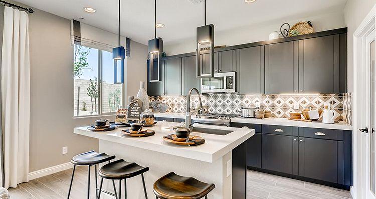 Kitchen featured in the Cedar Plan 2 By Woodside Homes in Las Vegas, NV