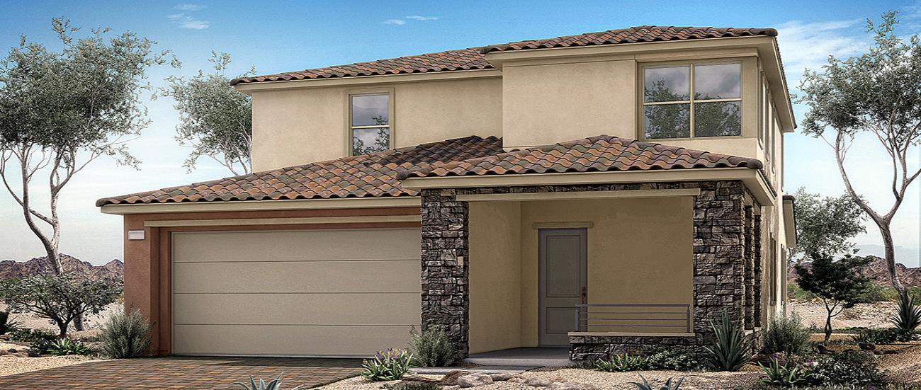 'Crystal Canyon in Summerlin Collection Two' by Woodside Homes - Las Vegas in Las Vegas