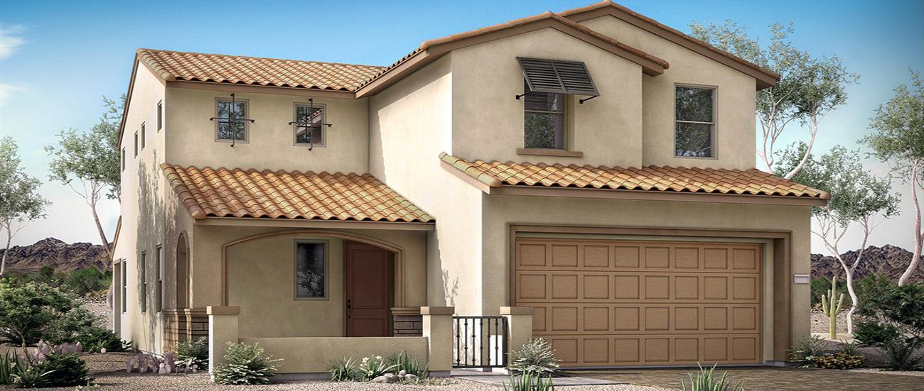 'Ridgeview at Skye Canyon' by Woodside Homes - Las Vegas in Las Vegas