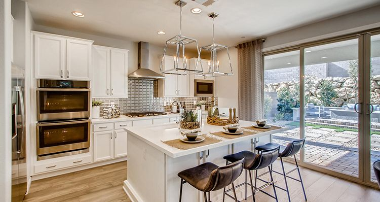 Kitchen featured in the Mojave Plan 6 By Woodside Homes in Las Vegas, NV