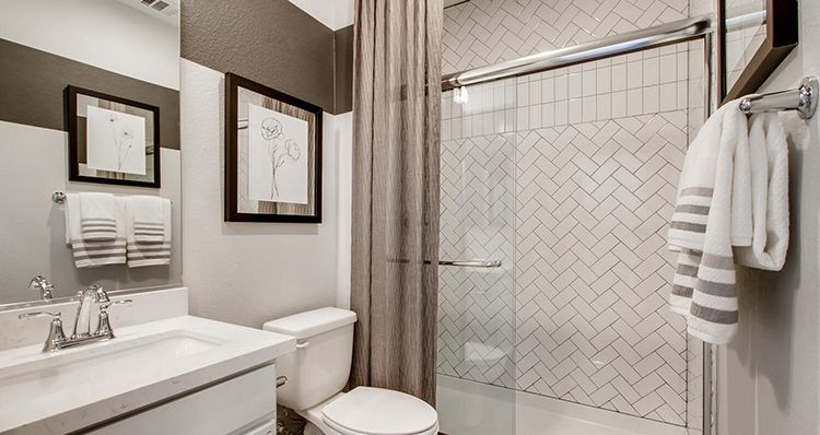 Bathroom featured in the Mojave Plan 6 By Woodside Homes in Las Vegas, NV
