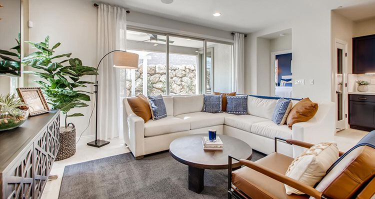 Living Area featured in the Sierra Plan 5 By Woodside Homes in Las Vegas, NV