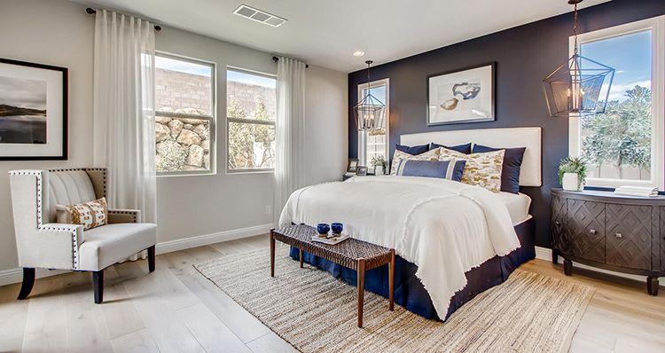 Bedroom featured in the Sierra Plan 5 By Woodside Homes in Las Vegas, NV