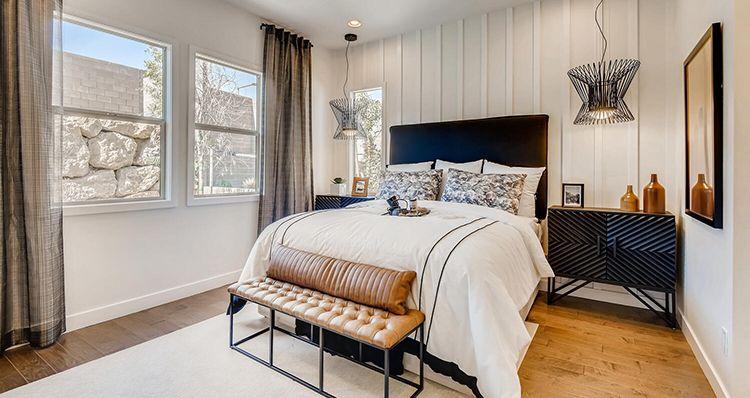 Bedroom featured in the Vista Plan 2 By Woodside Homes in Las Vegas, NV