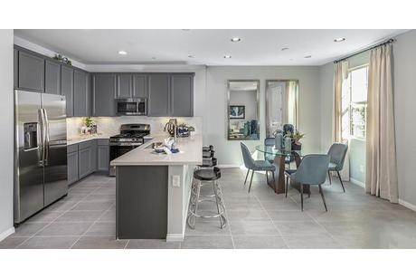 Kitchen-in-Bel Canto Plan 1-at-San Carlo Townhomes-in-Henderson