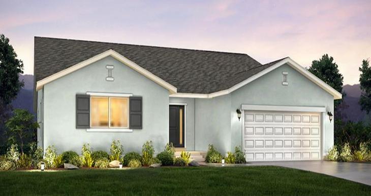 Elevation:Woodside Homes - Lot 168 - Sagecrest