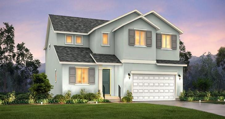 Elevation:Woodside Homes - Lot 166 - Hampton