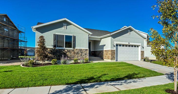 Elevation:Woodside Homes - Lot 179 - Sagecrest