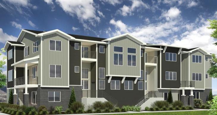Elevation:Woodside Homes - Birkhall - DRR