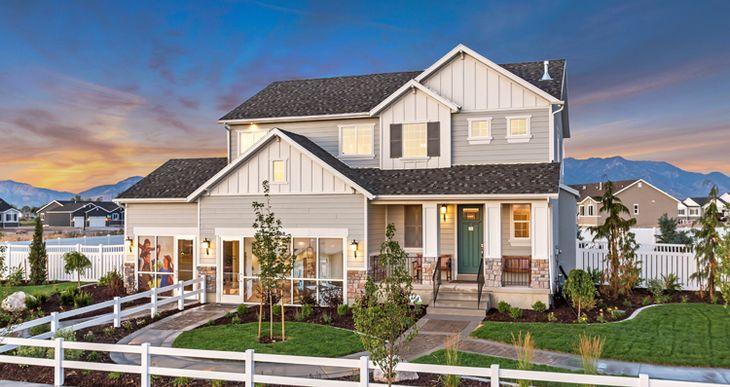 Elevation:Woodside Homes - Amesbury- BKF