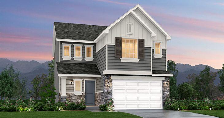 Elevation:Woodside Homes - Gambel Oak - SWS