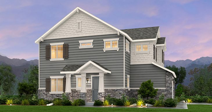 Elevation:Woodside Homes - Willow - SWS