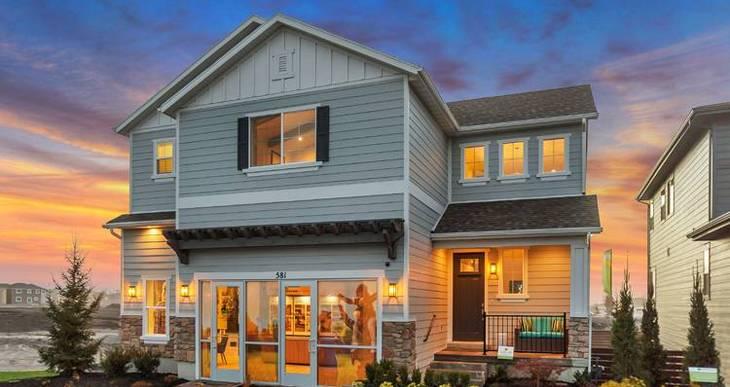 Elevation:Woodside Homes - Gambel Oak-WEC