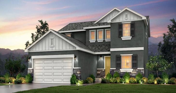 Elevation:Woodside Homes - Springhill- WEP