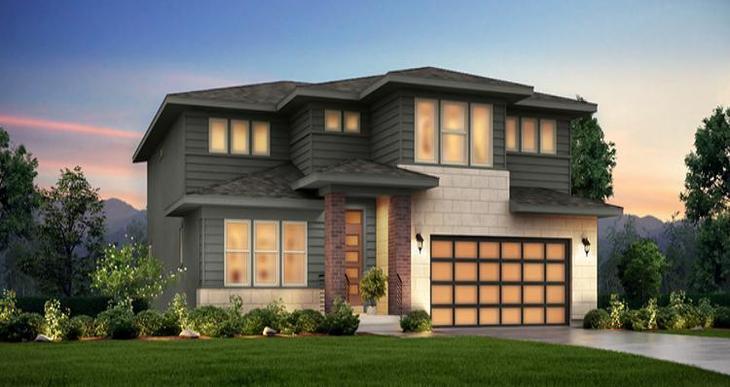 Elevation:Woodside Homes - Hampton Estate- WEP