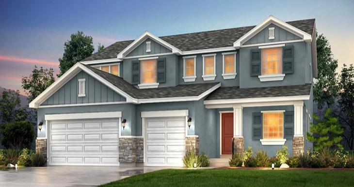 Elevation:Woodside Homes - McIntosh IV- WEP