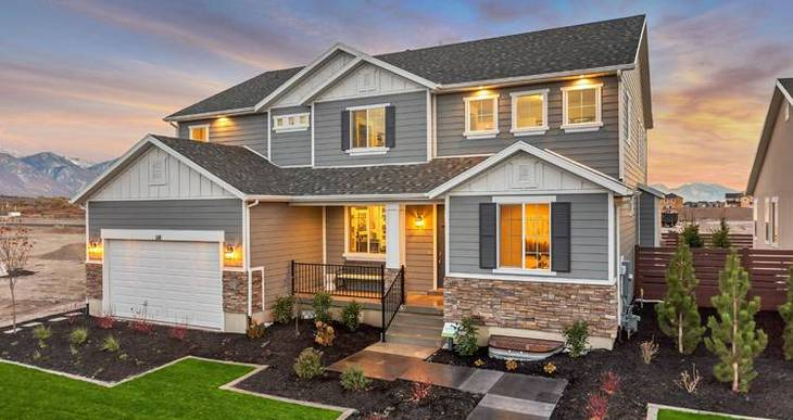 Elevation:Woodside Homes - Waterford- WEP