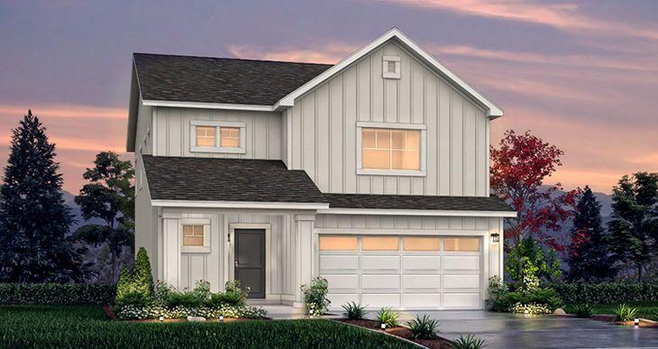 Elevation:Woodside Homes - SCV - Spruce