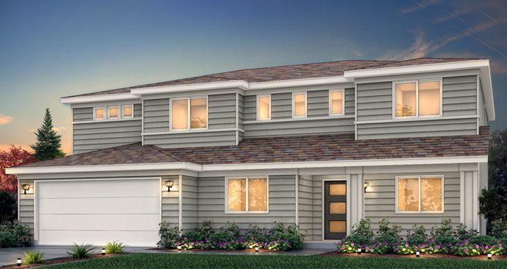 Elevation:Woodside Homes - Mcintosh - HC