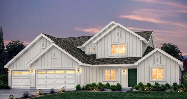 Elevation:Woodside Homes - Ellsworth - HC