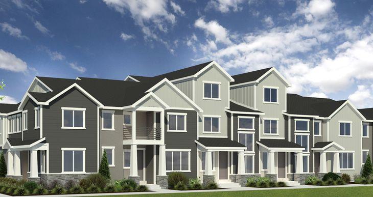 Elevation:Woodside Homes - Lot 194 - Buchanan