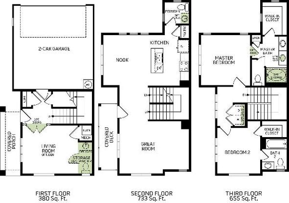 Birkhall Drr Plan At Regency At Day Ranch In Bluffdale Ut By Woodside Homes
