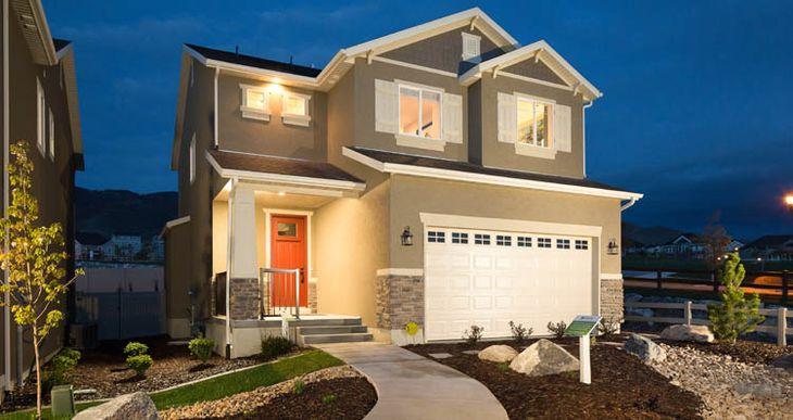 Elevation:Woodside Homes - Boxelder -CFH