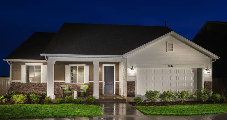 Exterior featured in the Gala II- SWP By Woodside Homes in Salt Lake City-Ogden, UT