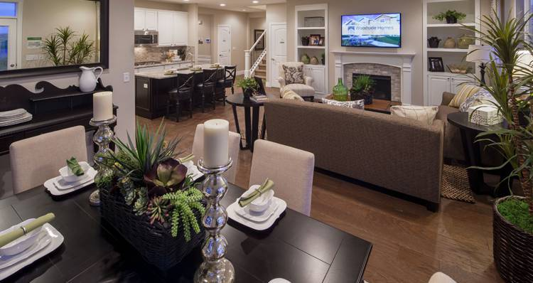Living Area featured in the Gala II- SWP By Woodside Homes in Salt Lake City-Ogden, UT