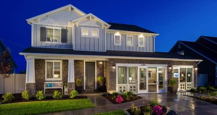 Elevation:Woodside Homes - Stonehaven IV- SWP