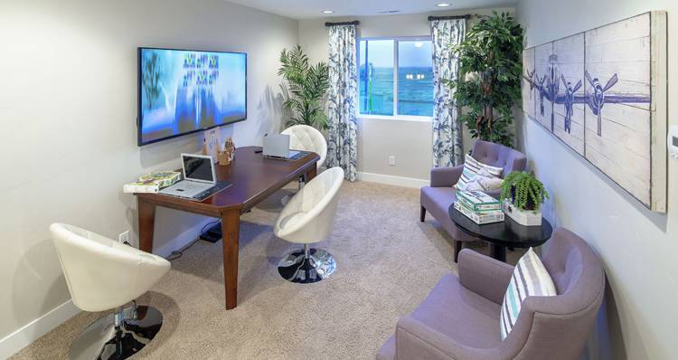 Living Area featured in the Stonehaven IV- SW By Woodside Homes in Salt Lake City-Ogden, UT