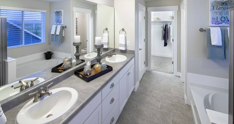 Bathroom featured in the Stonehaven IV- SW By Woodside Homes in Salt Lake City-Ogden, UT