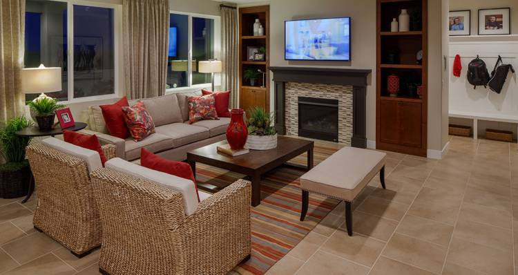 Living Area featured in the Banyan- SWP By Woodside Homes in Salt Lake City-Ogden, UT