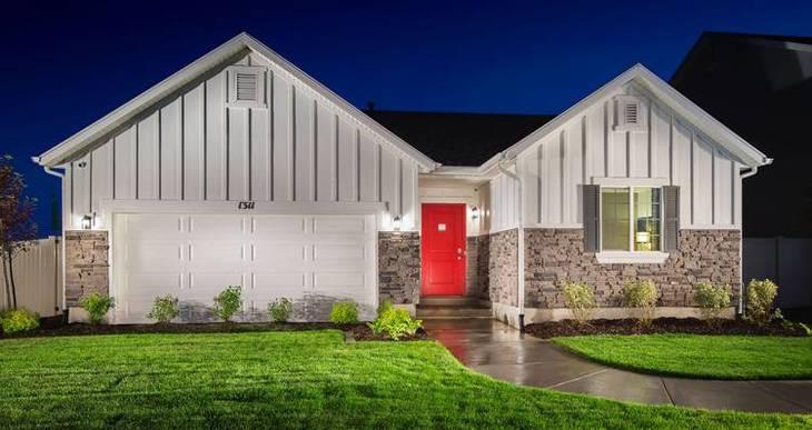 Elevation:Woodside Homes - Stonebrook II- SWH