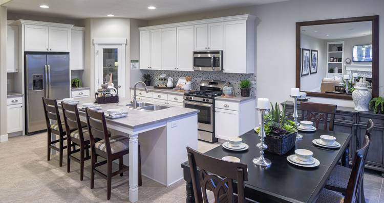 Kitchen featured in the Stonehaven IV- SW By Woodside Homes in Salt Lake City-Ogden, UT