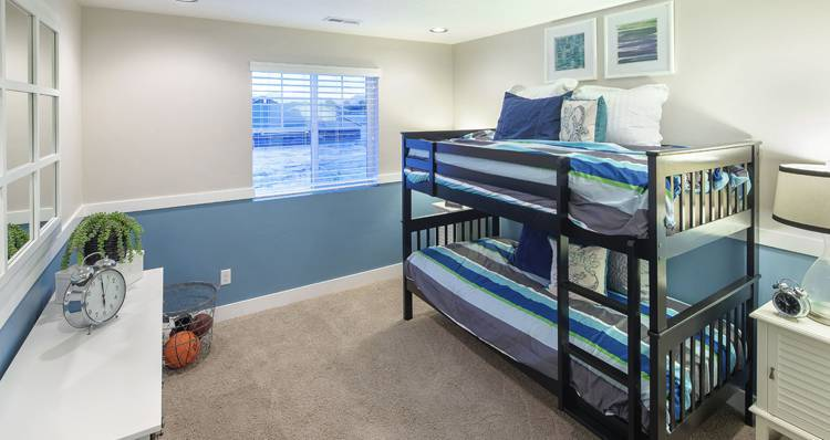 Bedroom featured in the Stonehaven IV- SW By Woodside Homes in Salt Lake City-Ogden, UT