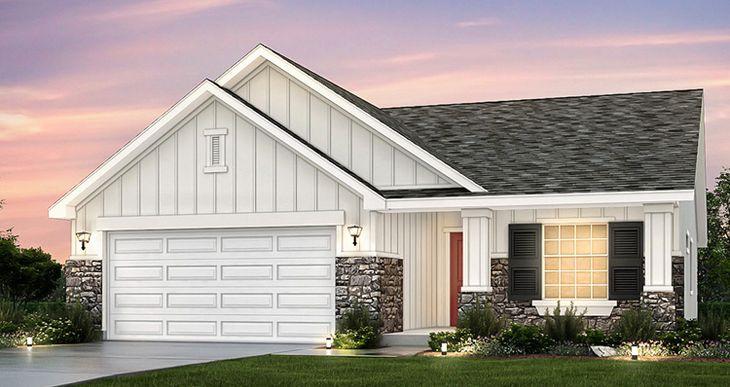 Elevation:Woodside Homes - Sage - SWH